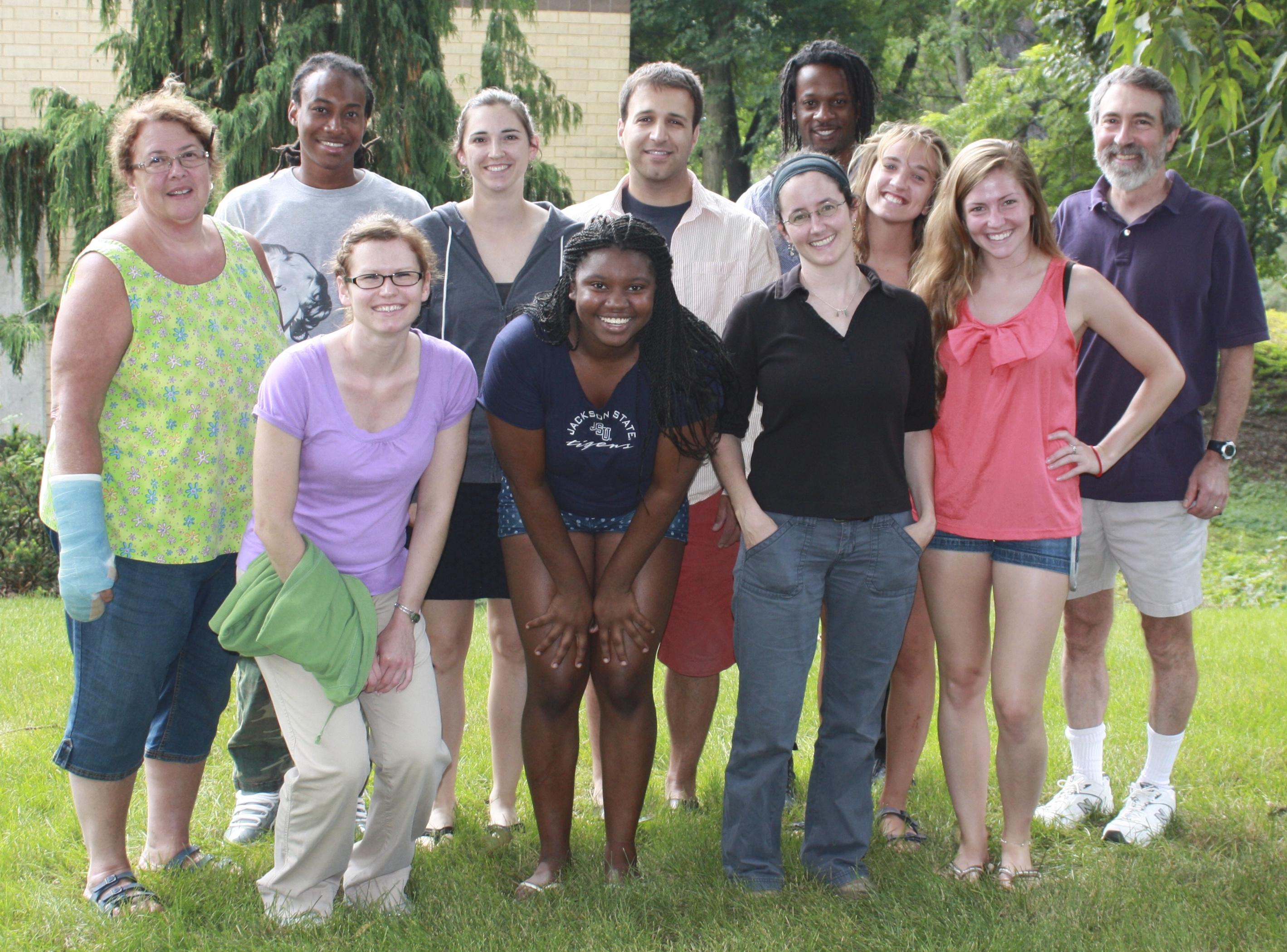 Conner Lab, Summer 2013